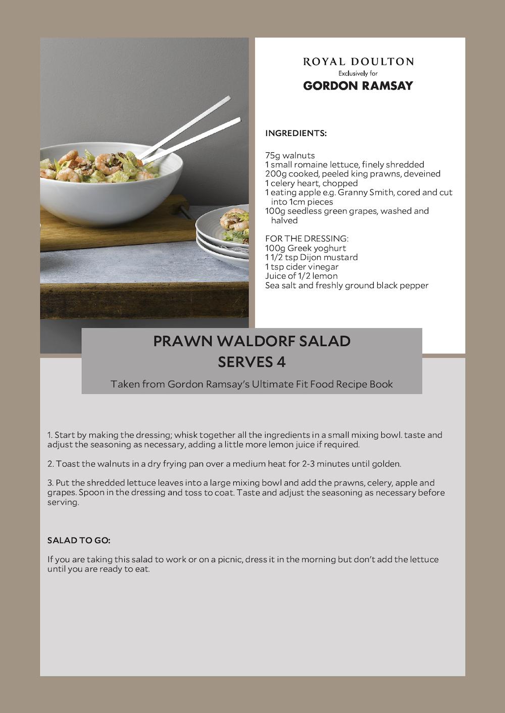 Waldorf Salad Recipe Gordon Ramsay