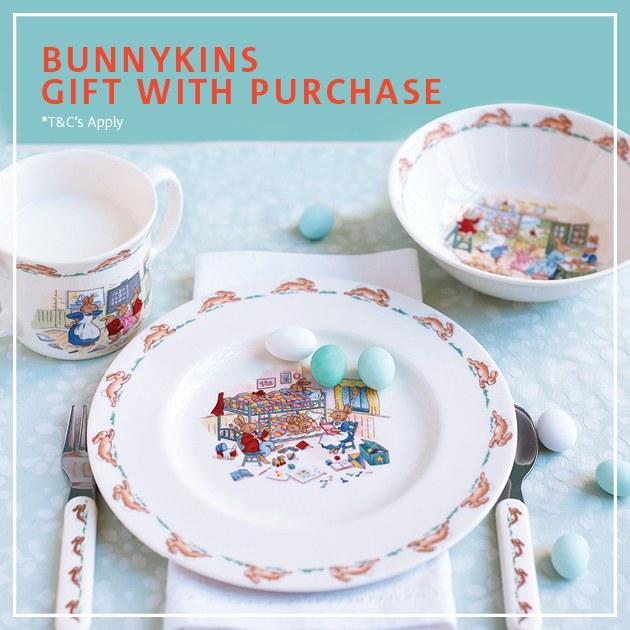 Bunnykins Easter Offer