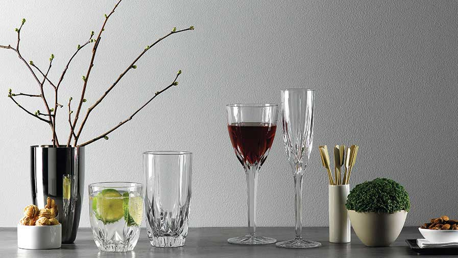 All crystalware glassware stemware decanter sets for Decor zippay