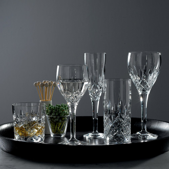 Highclere Crystal Flute Set Of 4