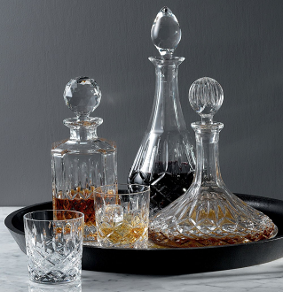 Highclere Square Spirit Decanter