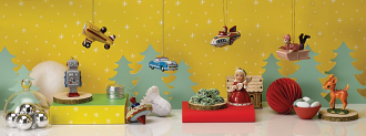 Christmas Ornament Rocket