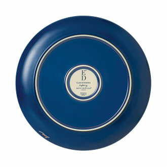 ED Ellen DeGeneres collection - Plate 21cm Brushed Glaze Cobalt Blue