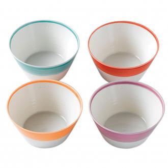 1815 Cereal Bowls set of 4 Brights 15cm