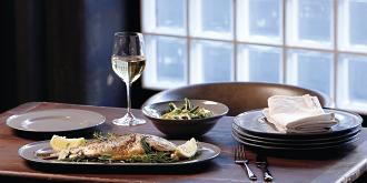 Gordon Ramsay Union Street Cafe Grey Serving Platter 41cm