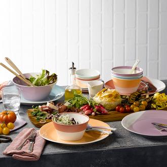 1815 Pasta Bowls set of 4 Brights 22cm
