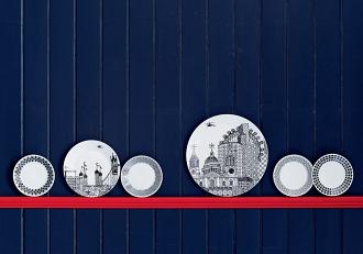 Charlene Mullen London Calling Platter 32cm
