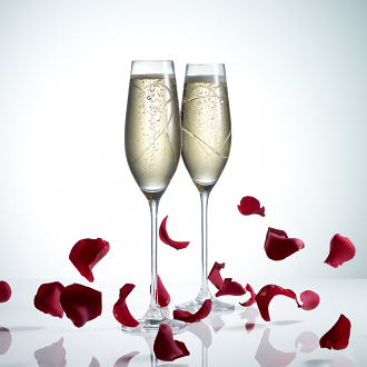 Promises Flutes Two Hearts Set Of 2