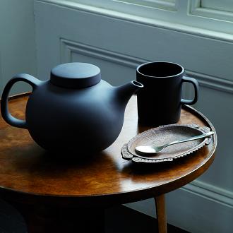 Olio Black 300ml Mug by Barber Osgerby