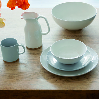 Olio White Bowl 16cm by Barber Osgerby