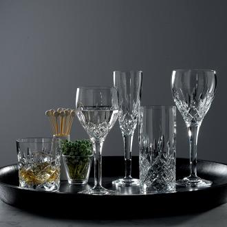 Highclere Crystal Goblet Set Of 4