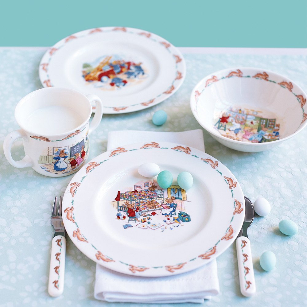 royal doulton christening 2 piece baby set
