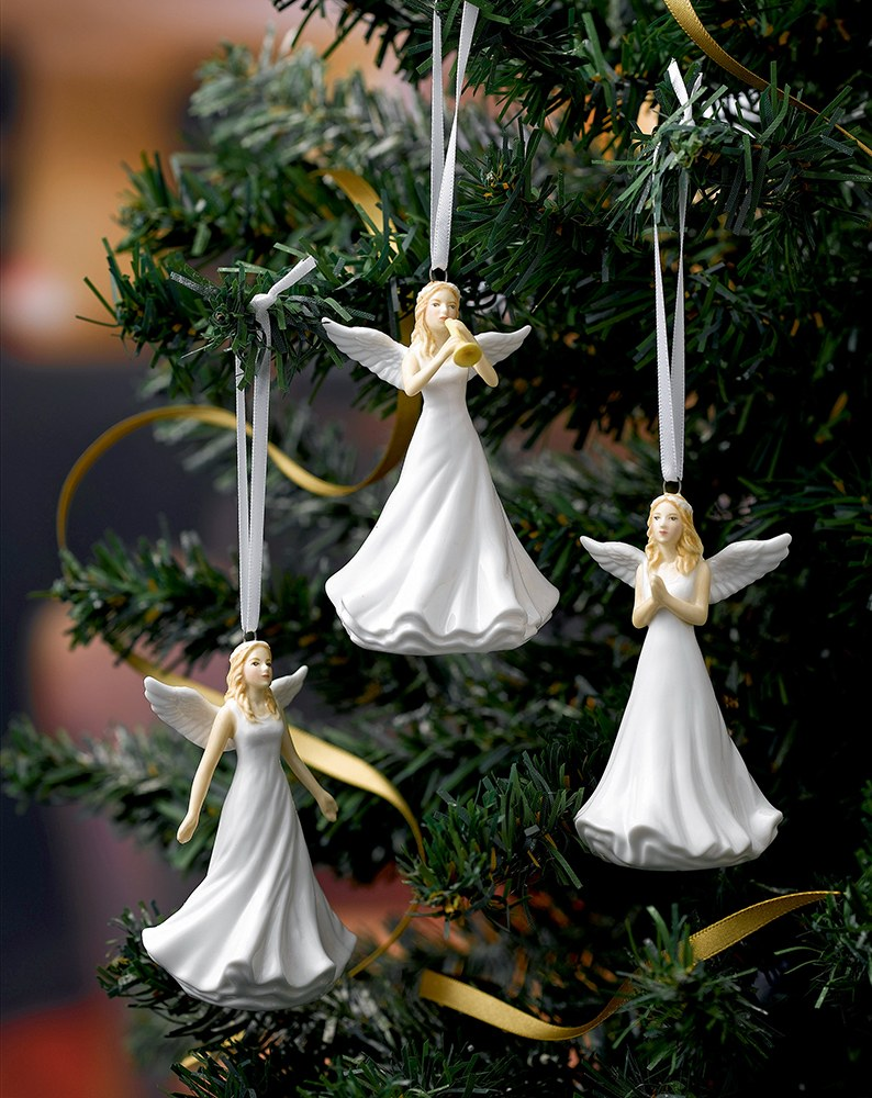 royal doulton christmas ornaments angel hallelujah hn 5711 - Angel Decorations