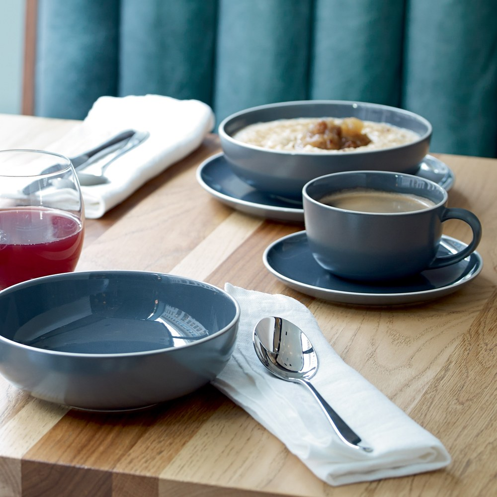 Gordon Ramsay Bread Street Slate Breakfast Cup And Saucer
