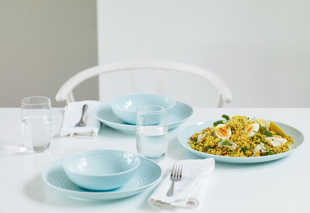 Gordon Ramsay Maze Blue Cereal Bowl 18cm