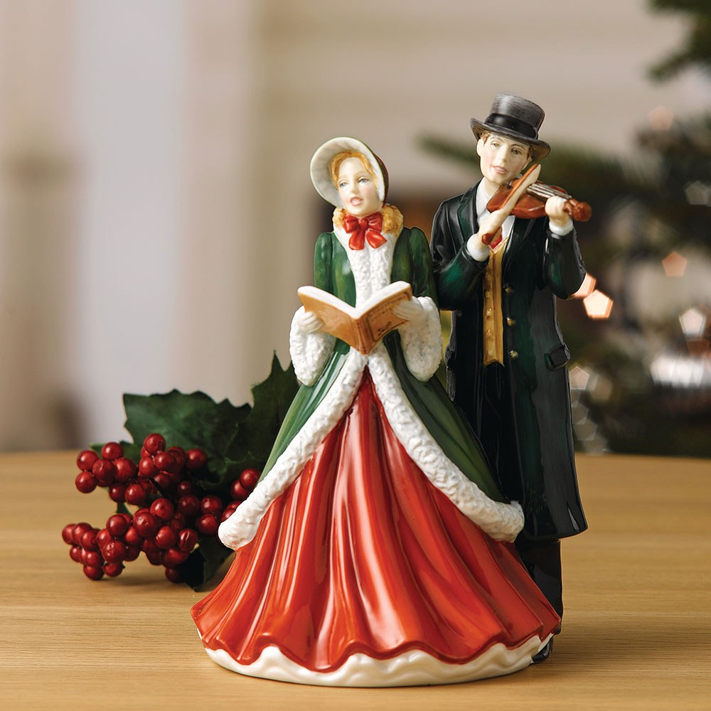 Christmas Carol Singers Decorations: Royal Doulton Carol Singers Hark! The Herald Angels Sing