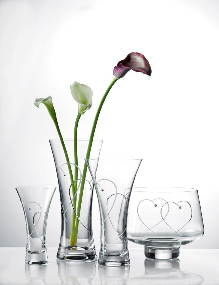 Royal Doulton Promises Two Hearts Vase 25cm Royal Doulton Australia