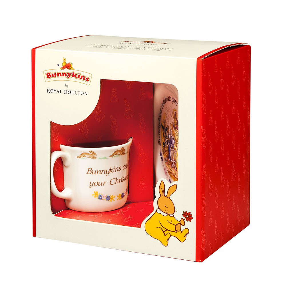 Royal Doulton Baby Gifts Australia : Royal doulton christening piece baby set