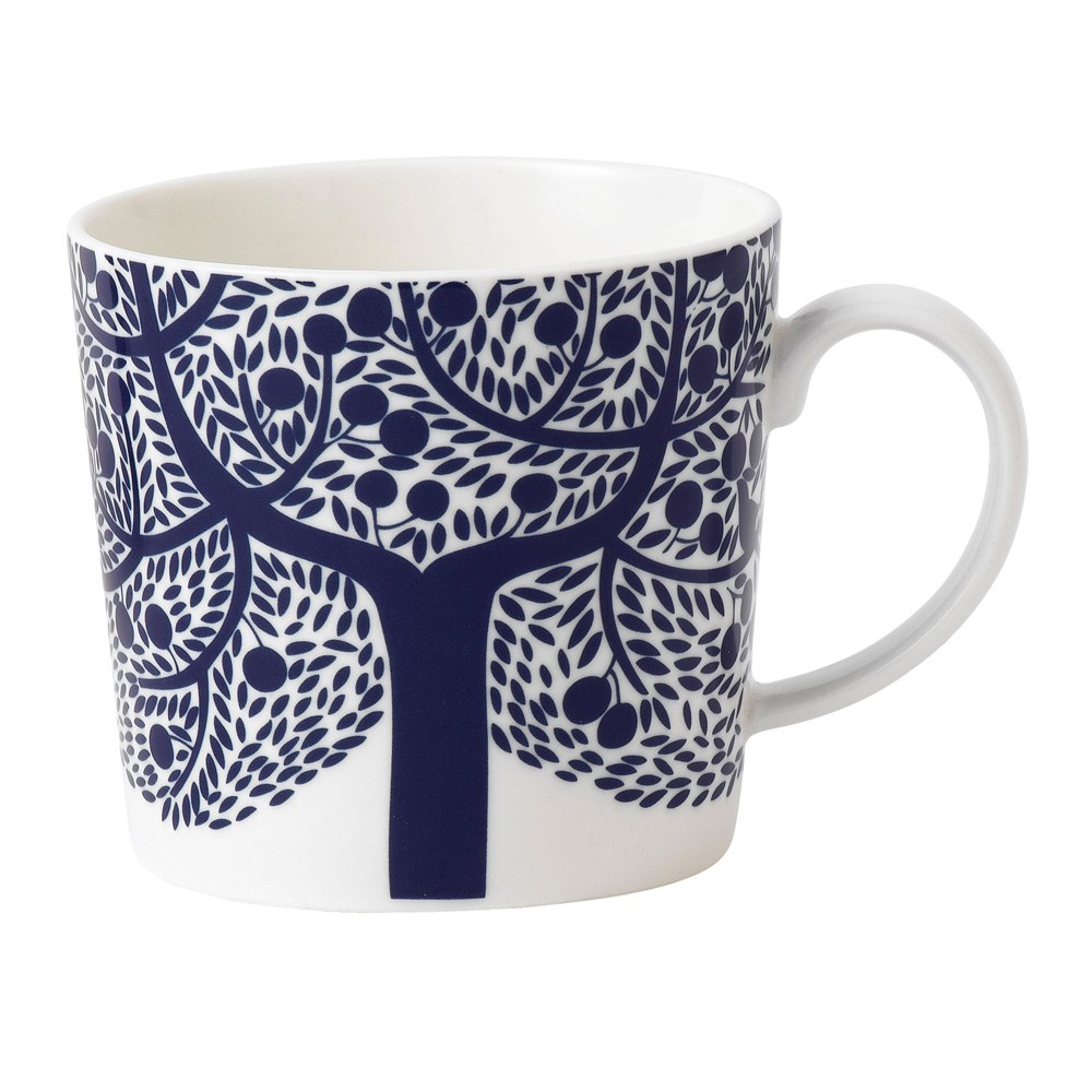 Royal Doulton Fable Accent Mug Blue Tree Royal Doulton