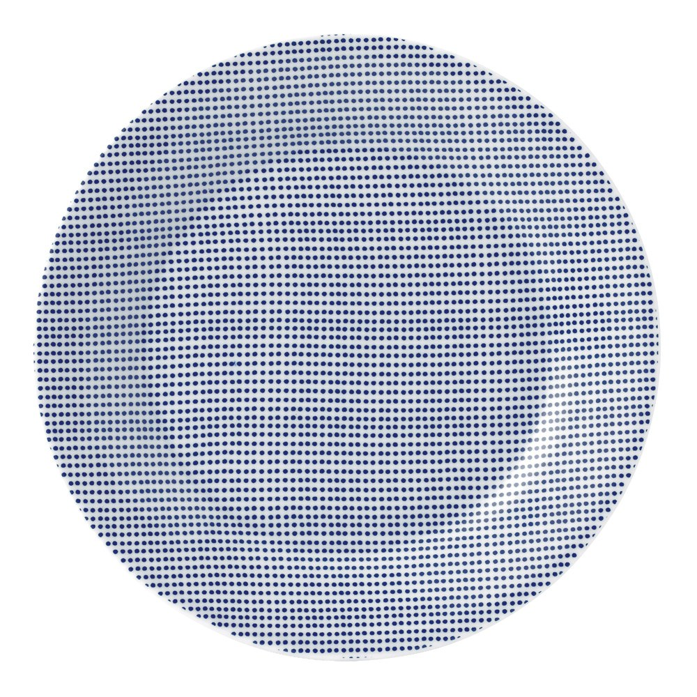Pacific Plate Dots 23.5cm