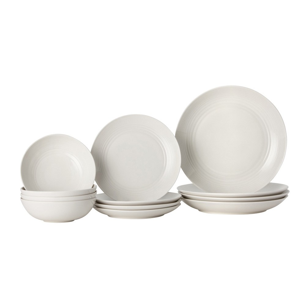 Gordon Ramsay Maze White 12 Piece Set