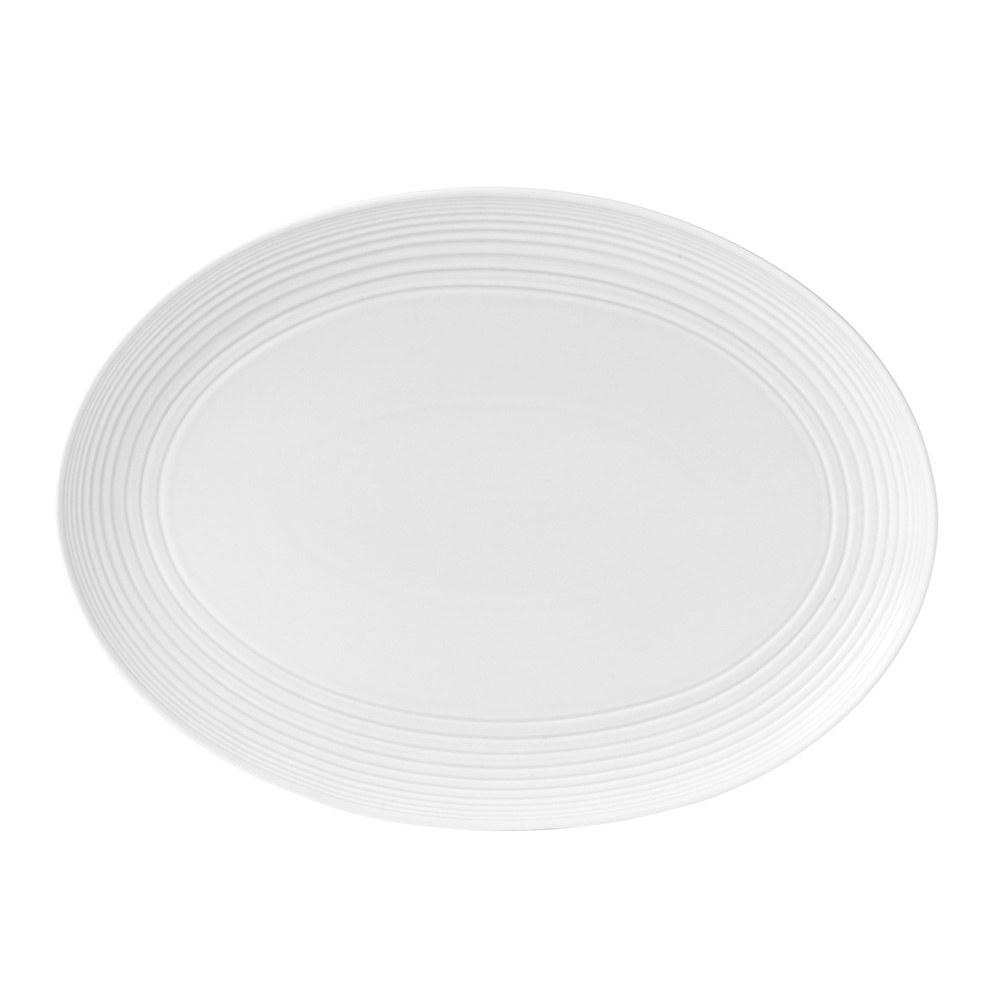 Gordon Ramsay Maze White Oval Platter 43cm
