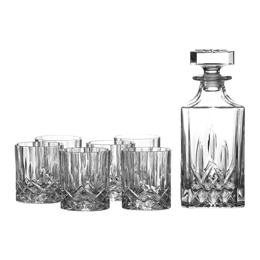 Seasons Decanter Set: Decanter & 6 Tumblers