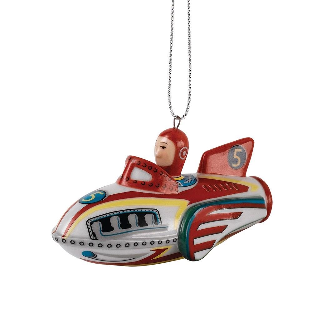 Royal Doulton Christmas Ornament Rocket