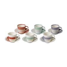 1815 BOLD Espresso Cup & Saucer 85ml (Set of 6)