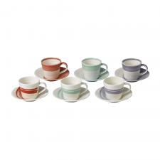 1815 BOLD Espresso Cup & Saucer 85ml (Set of 6)