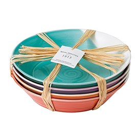 1815 Pasta Bowls set of 4 Brights 22cm