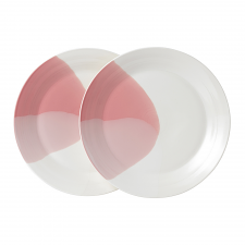 Signature 1815 Coral Plate 28cm Set of 2