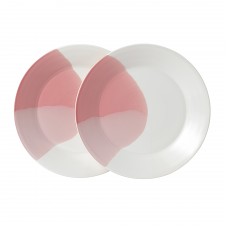 Signature 1815 Coral Plate 23cm Set of 2