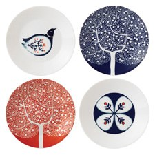 Royal Doulton Fable Set Of 4 Accent Plates 16cm