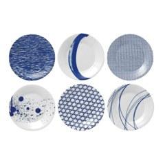 Pacific Set of 6 Plates 16cm
