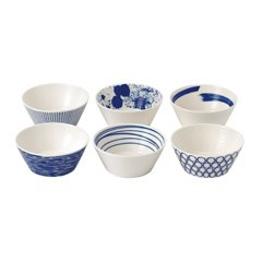 Royal Doulton Pacific Set of 6 Bowls 11cm