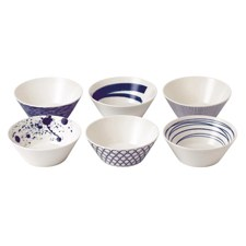 Pacific Set of 6 Bowls 16cm