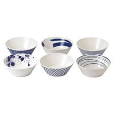 Pacific Set of 6 Noodle Bowls 21cm
