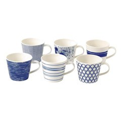Royal Doulton Pacific Set of 6 Mugs 300ml