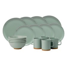 Barber & Osgerby Olio Duck Egg Green 16 Piece Set