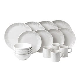 HemingwayDesign White 16 Piece Set