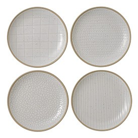 Gordon Ramsay Maze Grill White Plate 16cm Mixed (Set of 4)