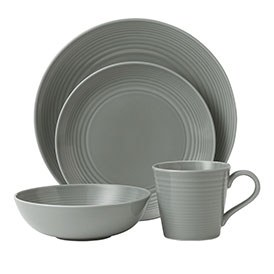 Gordon Ramsay Maze Dark Grey 16 Piece Set