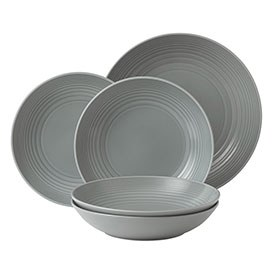 Gordon Ramsay Maze Dark Grey 5 Piece Pasta Set