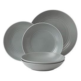 Gordon Ramsay Maze Dark Grey 5 Piece Pasta Set