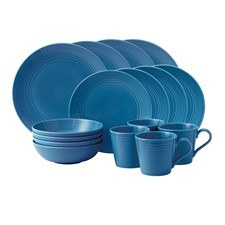 Gordon Ramsay Maze by Royal Doulton Denim 16 Piece Set