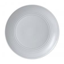 Gordon Ramsay Maze by Royal Doulton Light Grey Plate  28cm