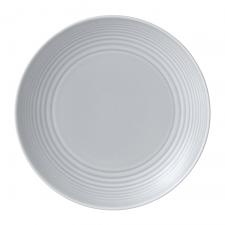 Gordon Ramsay Maze by Royal Doulton Light Grey Plate 22cm