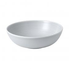 Gordon Ramsay Maze by Royal Doulton Light Grey Cereal Bowl 18cm