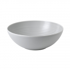 Gordon Ramsay Maze by Royal Doulton Light Grey Serving Bowl 25cm